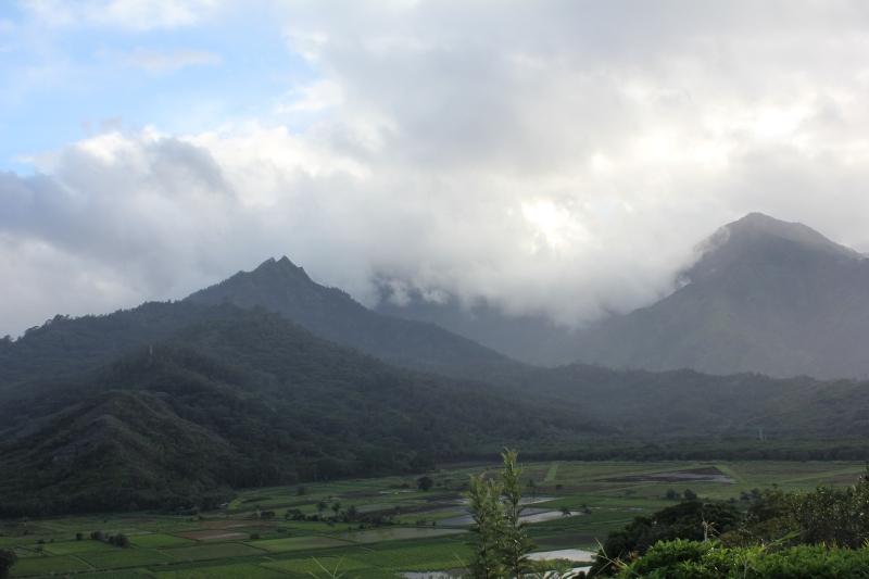 Hanalei lookout point Kauai - Hawaiianly