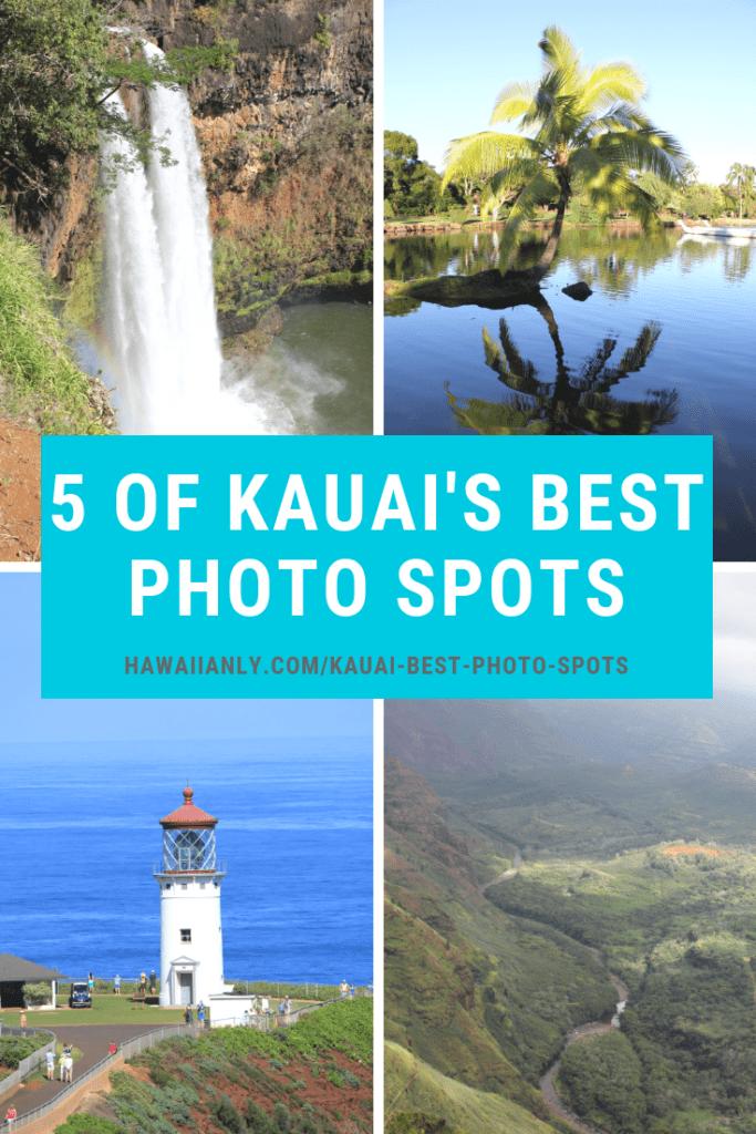 Kauai's Best Photo Spots - Hawaiianly.com