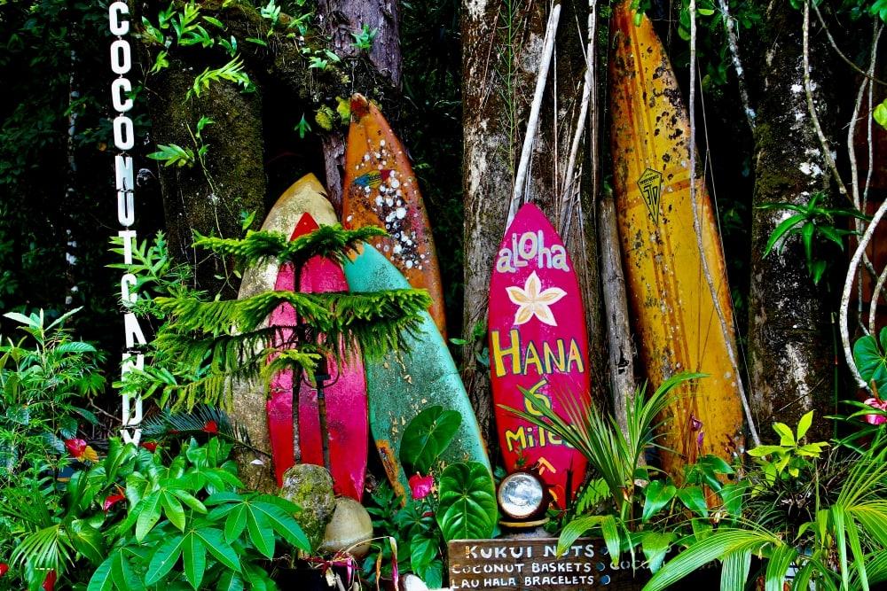 Roadside stand on the Road to Hana Maui - Hawaiianly