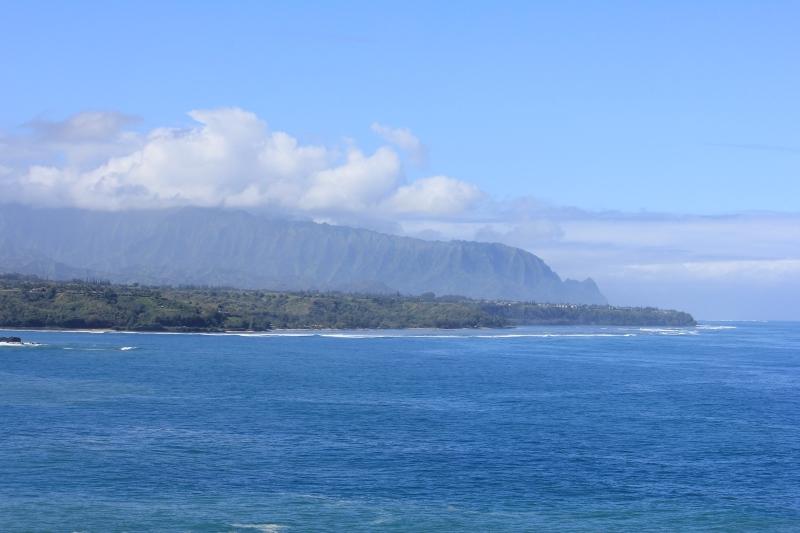 Looking north from the Kilauea Lighthouse on Kauai - Hawaiianly