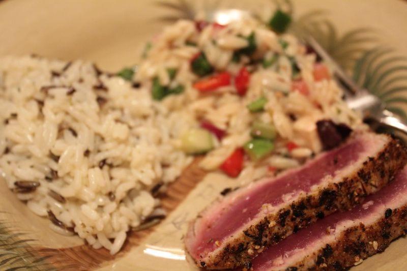Fresh Seared Ahi Tuna from Kauai - Live Hawaiianly