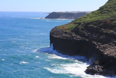 Looking south from the Kilauea Lighthouse on Kauai - Hawaiianly