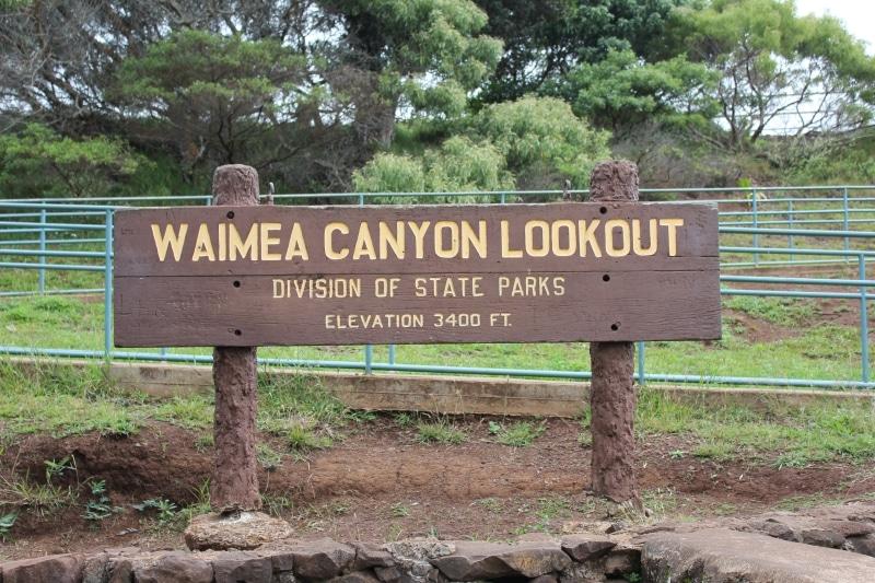 Waimea Canyon Lookout Hawaii State Park - Hawaiianly